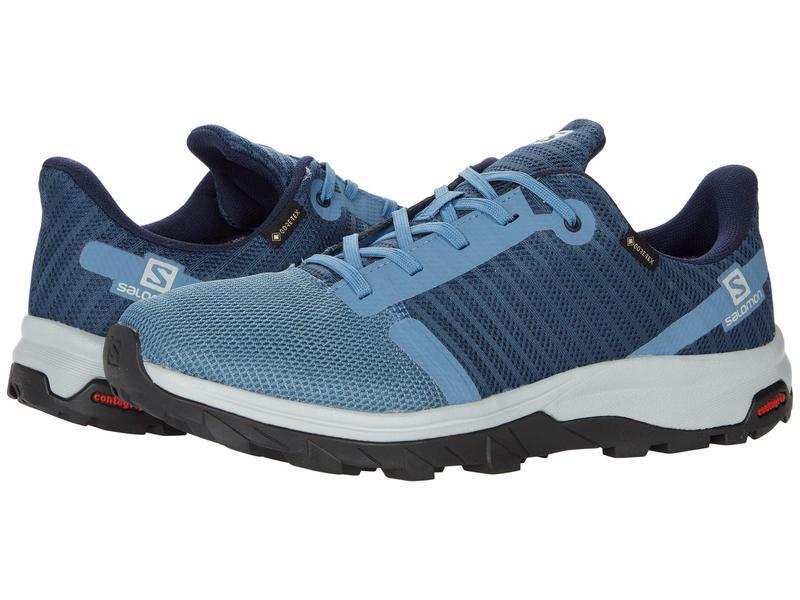 Salomon Mens Shoes Gin 4 GTX ® BK//BK//S