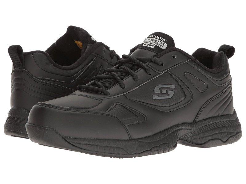 スケッチャーズ レディース スニーカー シューズ Dighton - Bricelyn Black Synthetic/Leather
