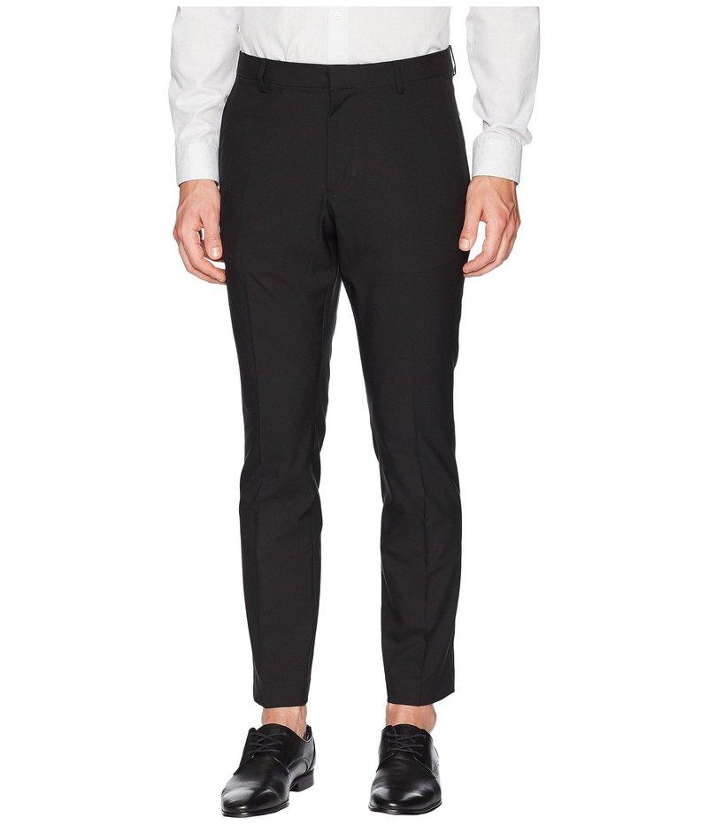 ペリーエリス メンズ カジュアルパンツ ボトムス Very Slim Fit Solid Tech Pants Black