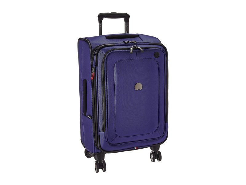 デルシー メンズ ボストンバッグ バッグ Cruise Lite Softside Expandable Spinner Carry-On Blue