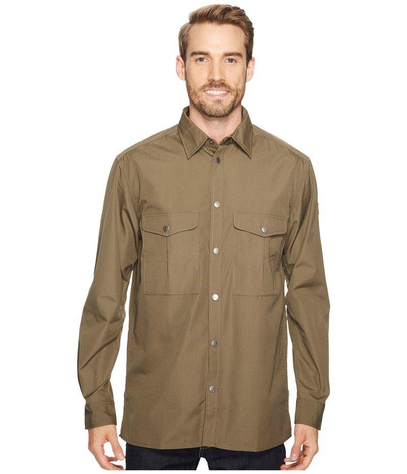 フェールラーベン メンズ シャツ トップス Greenland Shirt Tarmac