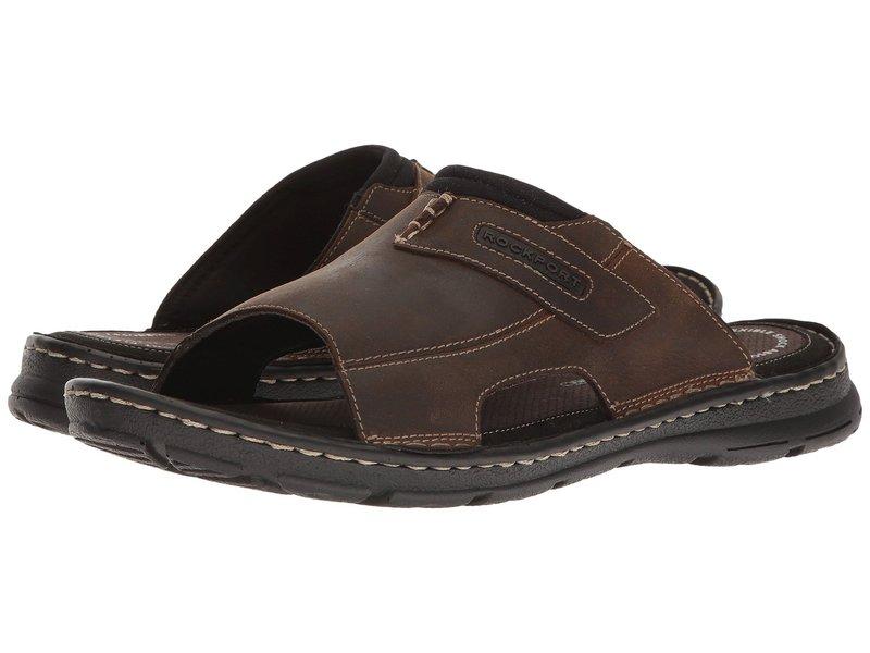 ロックポート メンズ サンダル シューズ Darwyn Slide 2 Brown II Leather