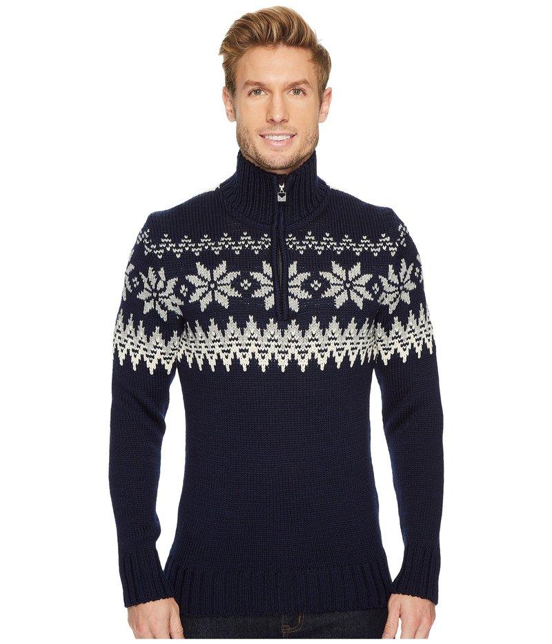 ダールオブノルウェイ メンズ ニット・セーター アウター Myking Sweater C-Navy/Off-White/Light Charcoal