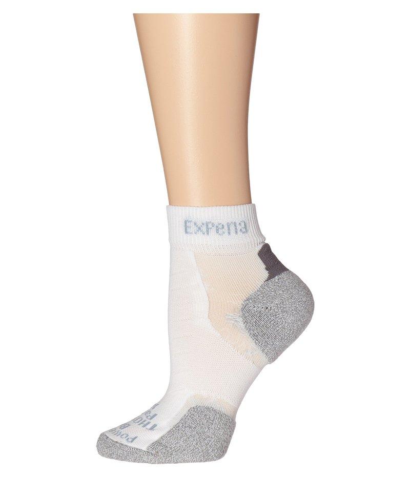 ソーロス メンズ 靴下 アンダーウェア Experia Mini Crew 3-Pair Pack White