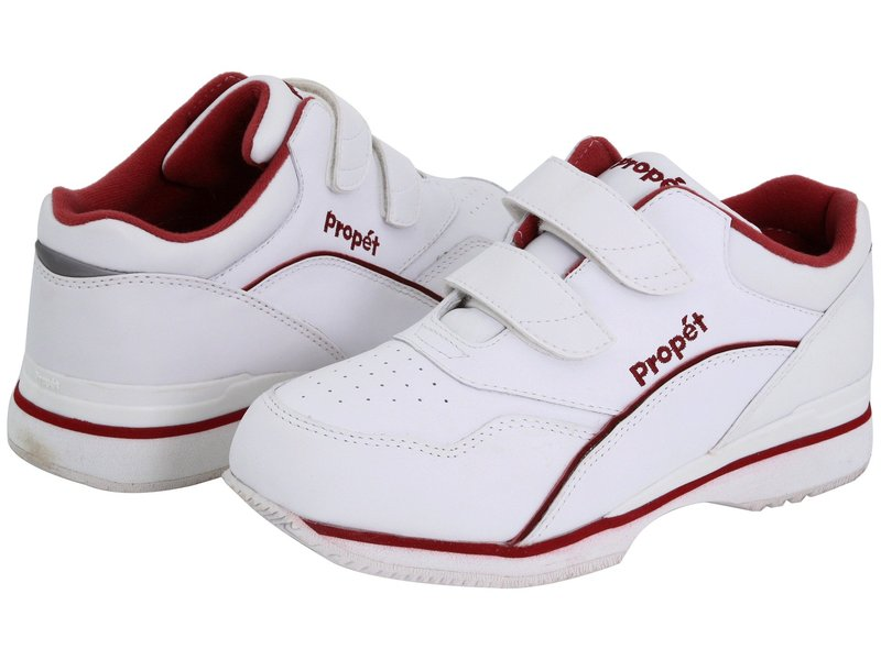プロペット レディース スニーカー シューズ Tour Walker Medicare/HCPCS Code = A5500 Diabetic Shoe White/Berry