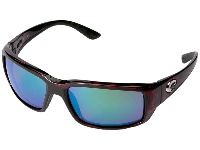 コスタ メンズ サングラス・アイウェア アクセサリー Fantail 580 Mirror Glass Tortoise/Green Mirror 580 Glass Lens