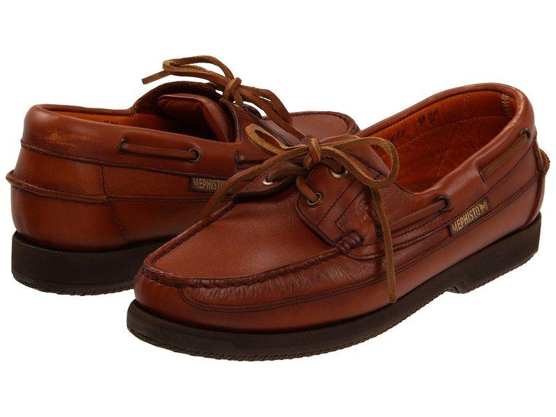 メフィスト メンズ デッキシューズ シューズ Hurrikan Rust Smooth Leather (Hazelnut)