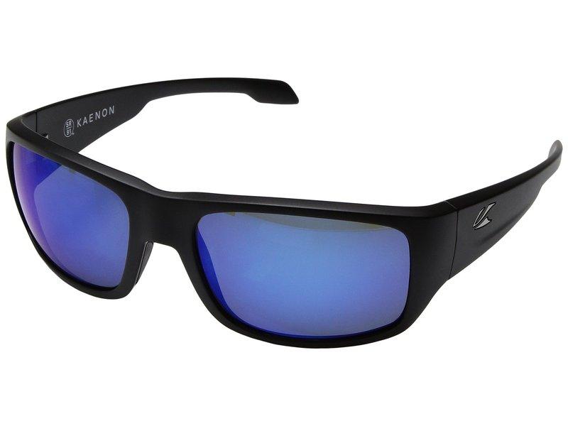 カエノン メンズ サングラス・アイウェア アクセサリー Anacapa Matte Black/Pacific Blue Mirror