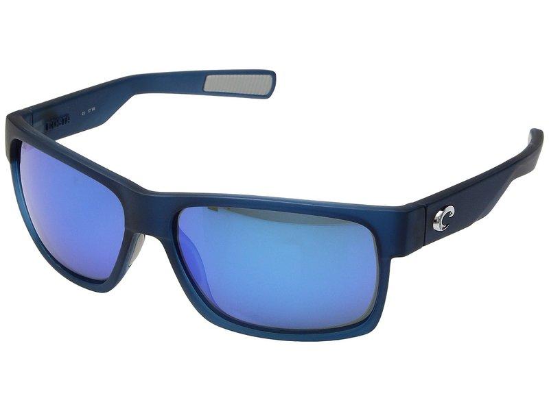 コスタ メンズ サングラス・アイウェア アクセサリー Half Moon Bahama Blue Fade/Blue Mirror 580G