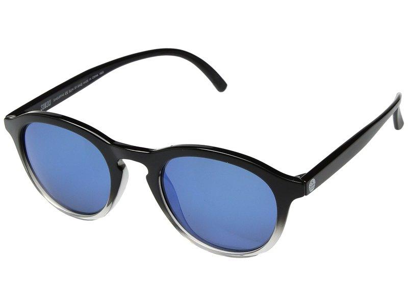 サンスキ メンズ サングラス・アイウェア アクセサリー Singlefin Black/Aqua
