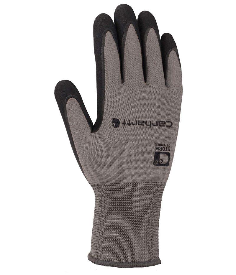 送料無料 サイズ交換無料 カーハート 新品 送料無料 メンズ アクセサリー 手袋 Gray Waterproof Thermal Wb Nitrile 往復送料無料 Glove Grip Breathable