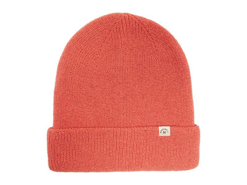 送料無料 サイズ交換無料 メイドウェル レディース 期間限定特価品 アクセサリー 帽子 Deep Beanie Rose Cotton Recycled 半額
