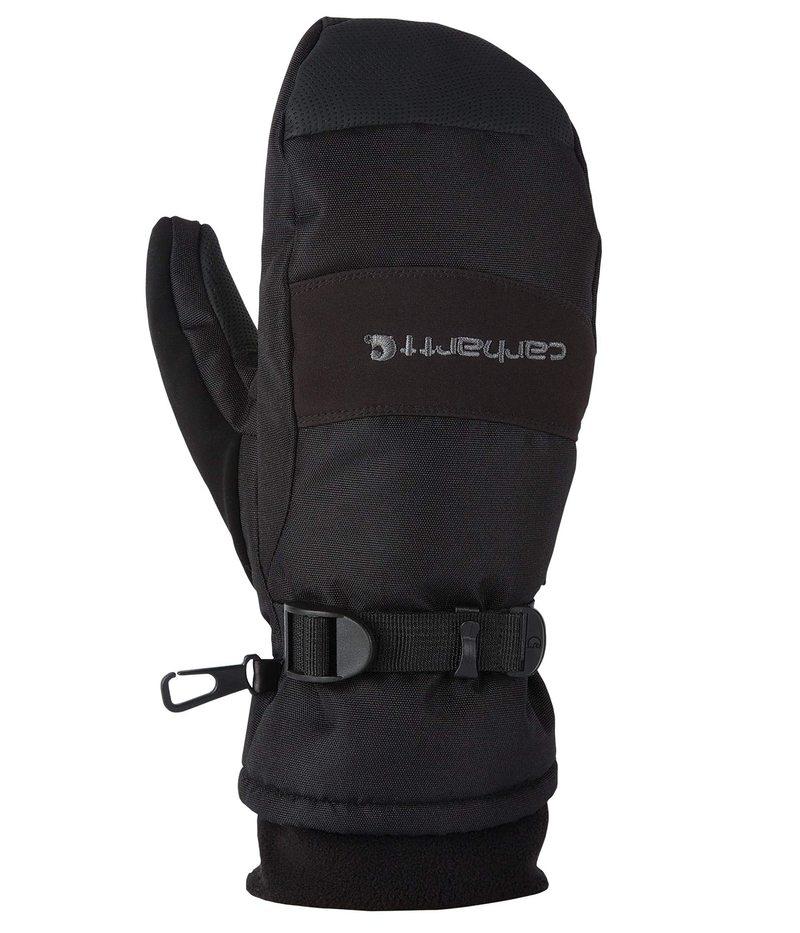 送料無料 サイズ交換無料 安い カーハート メンズ アクセサリー 手袋 海外 Mitt Insulated Wp Waterproof Black