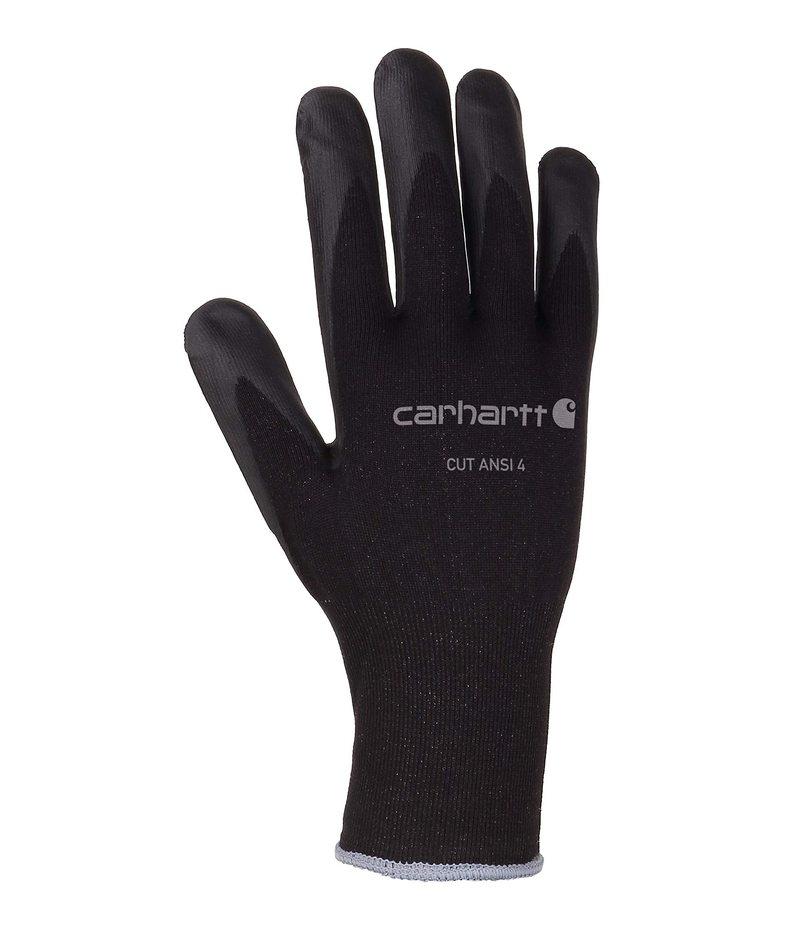 送料無料 サイズ交換無料 カーハート メンズ 代引き不可 アクセサリー 手袋 4 Glove Black Ansi Cut レビューを書けば送料当店負担
