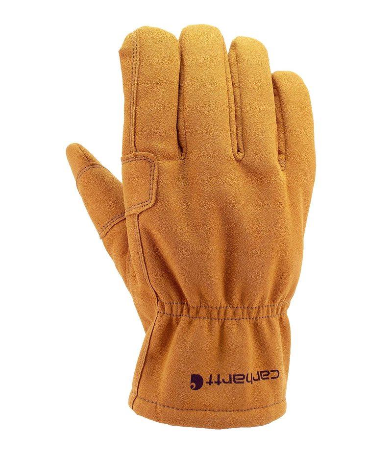 チープ 送料無料 サイズ交換無料 カーハート メンズ アクセサリー Brown 送料込 Fencer Glove Leather 手袋