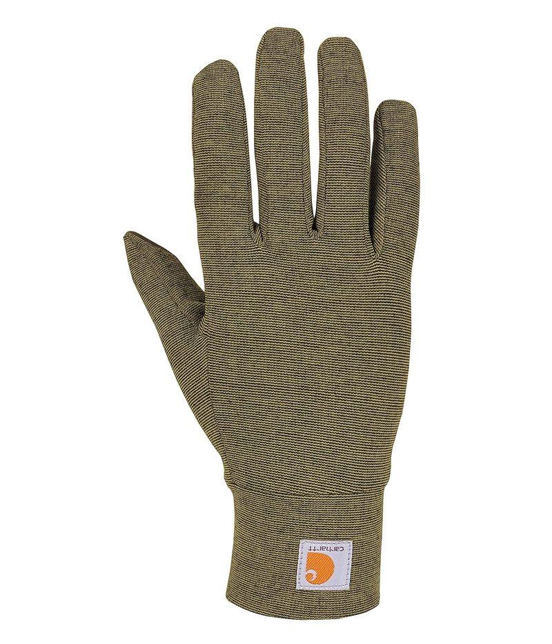卓抜 送料無料 サイズ交換無料 カーハート メンズ アクセサリー 手袋 Burnt Glove 商品追加値下げ在庫復活 Liner Force Heavyweight Hea Olive