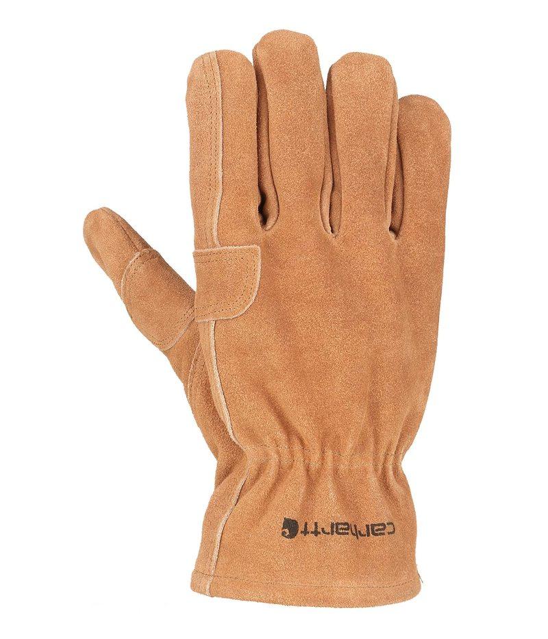 返品不可 送料無料 サイズ交換無料 カーハート メンズ アクセサリー 手袋 Brown Fencer Work Glove Pile 爆安プライス