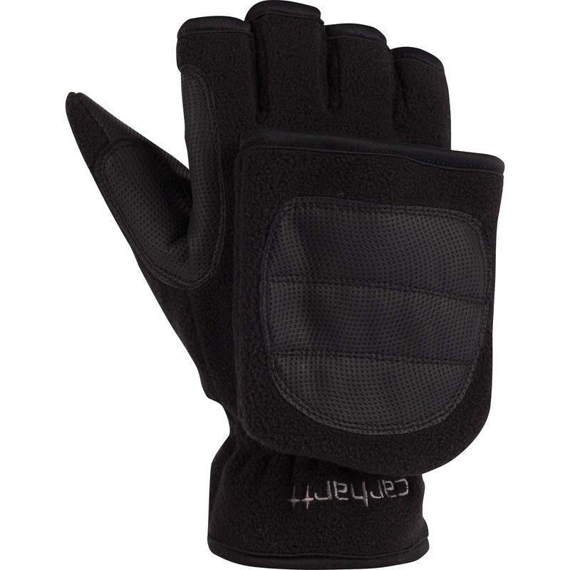今だけスーパーセール限定 送料無料 サイズ交換無料 カーハート メンズ アクセサリー 有名な Black Ts Flip 手袋