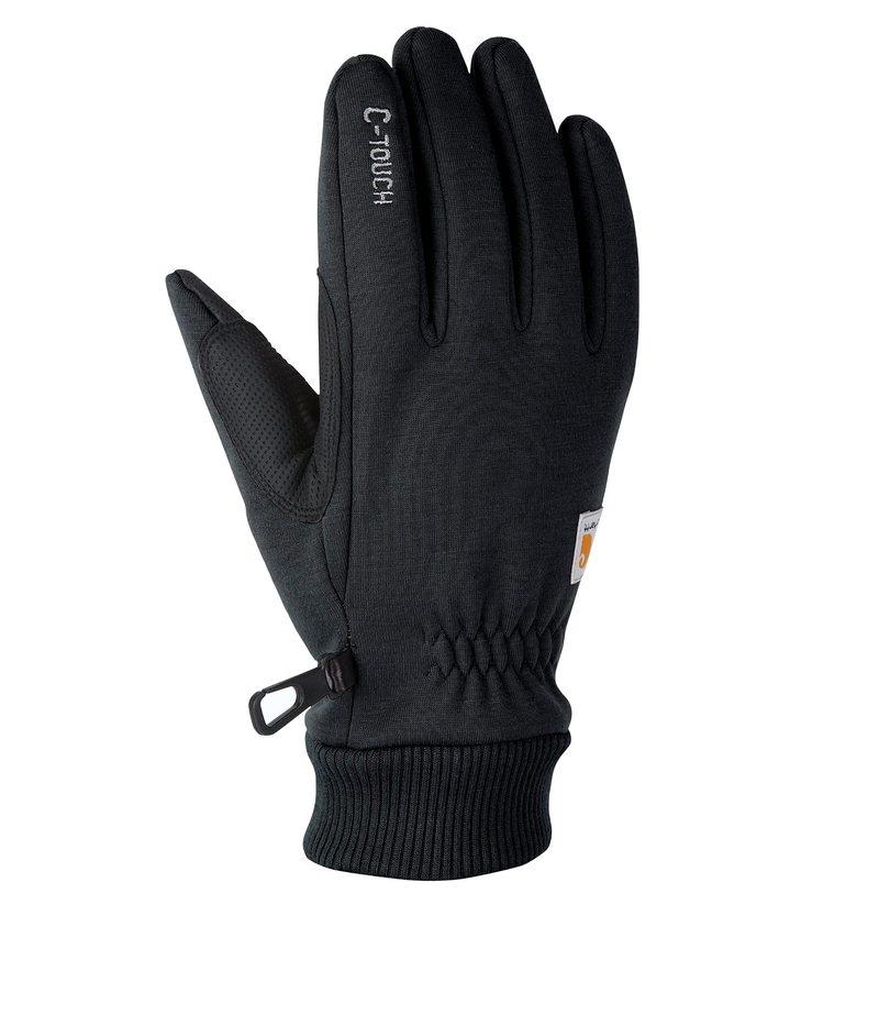 送料無料 新作通販 サイズ交換無料 カーハート メンズ C-touch 手袋 アクセサリー Black 販売期間 限定のお得なタイムセール