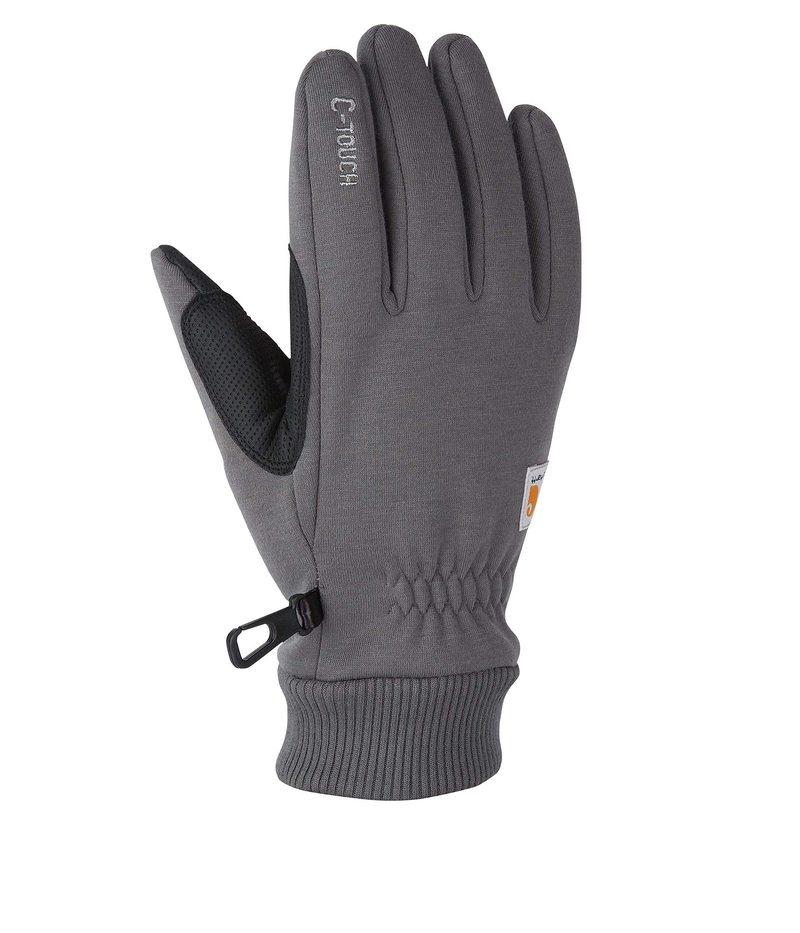 送料無料 サイズ交換無料 カーハート ランキングTOP5 メンズ C-touch Gray 手袋 アクセサリー 直営限定アウトレット