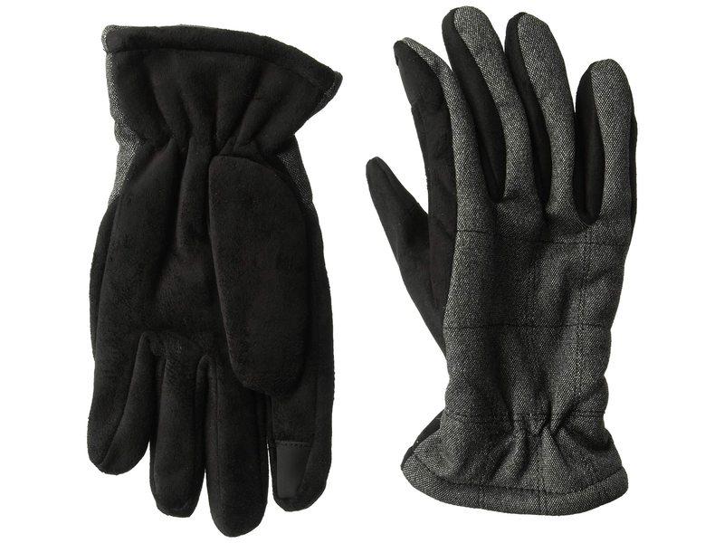 優先配送 送料無料 サイズ交換無料 ドッカーズ メンズ アクセサリー 手袋 Casual Performance 超激得SALE Touchscreen Gloves Charcoal
