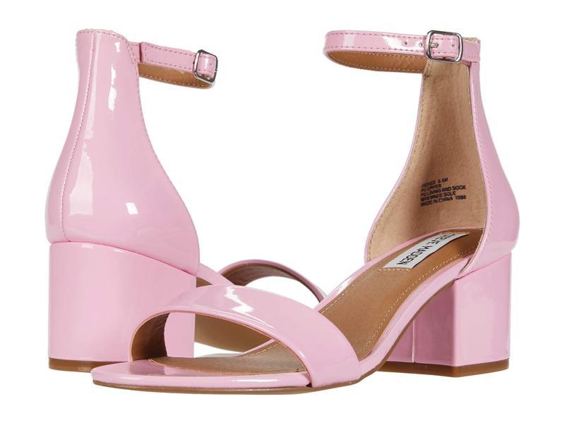 送料無料 サイズ交換無料 スティーブ マデン レディース シューズ ヒール Pink Patent スティーブ マデン レディース ヒール シューズ Irenee Sandal Pink Patent