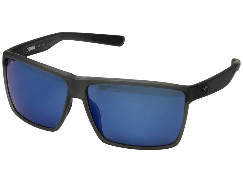 コスタ メンズ サングラス・アイウェア アクセサリー Rincon Matte Smoke/Blue Mirror 580P