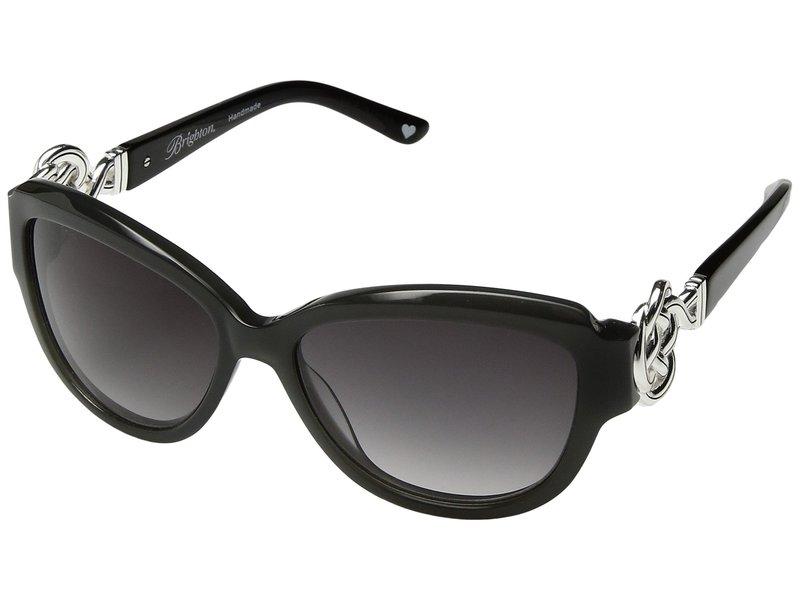ブライトン レディース サングラス・アイウェア アクセサリー Interlock Sunglasses Grey/Black