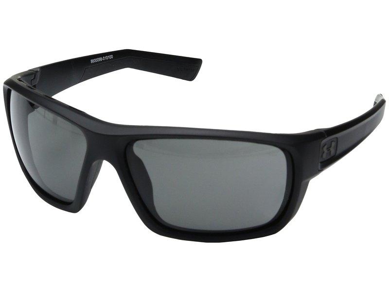 アンダーアーマー メンズ サングラス・アイウェア アクセサリー Launch Satin Black/Black Frame/Gray Lens