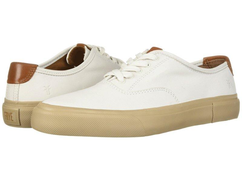 フライ メンズ スニーカー シューズ Ludlow Bal Oxford White Sheep Leather