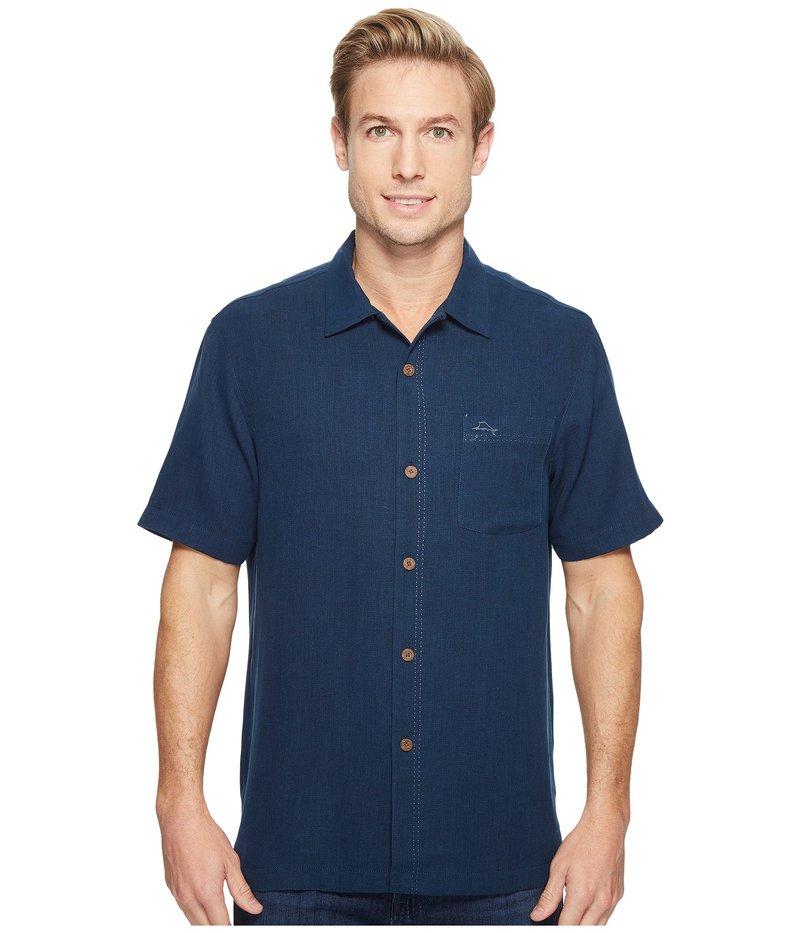 トッミーバハマ メンズ シャツ トップス Royal Bermuda Camp Shirt Navy