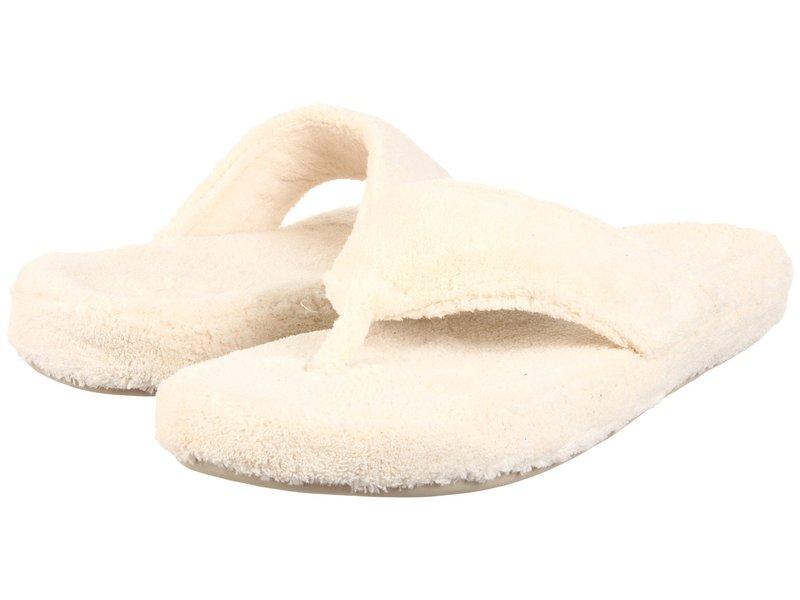 エイコーン レディース サンダル シューズ New Spa Thong Natural Fabric-270