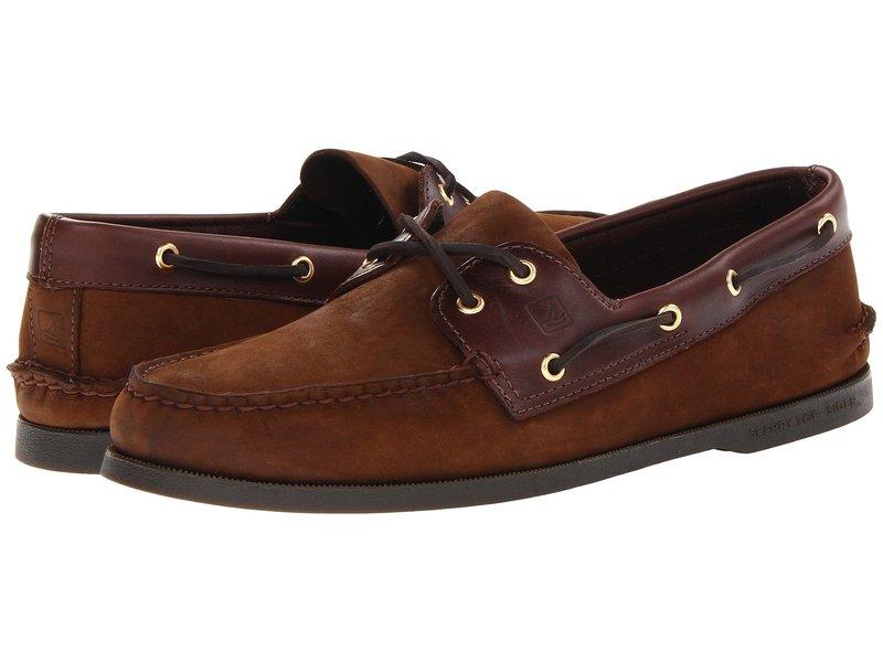 スペリー メンズ デッキシューズ シューズ Authentic Original Brown/Buc Brown