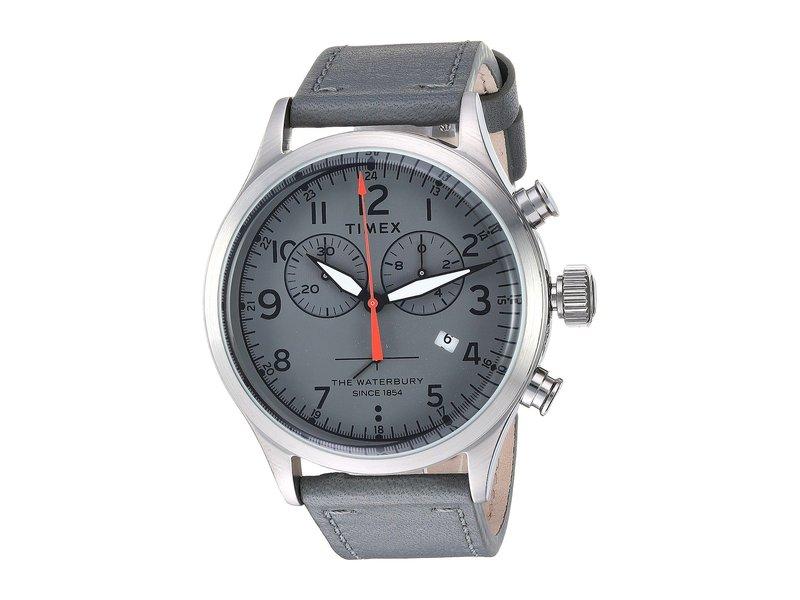 タイメックス メンズ 腕時計 アクセサリー Waterbury Traditional Chrono Grey/Grey