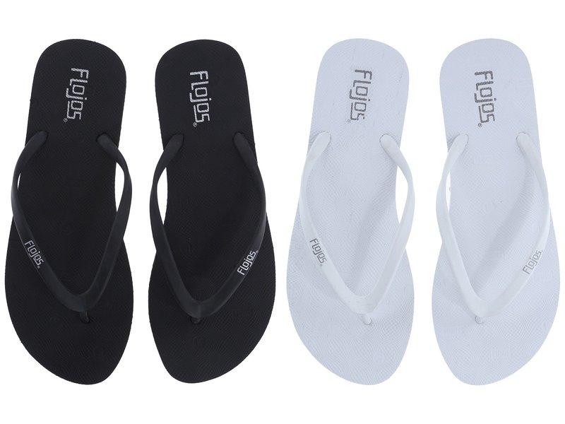 フロホース レディース サンダル シューズ Kai 2-Pack Black/White