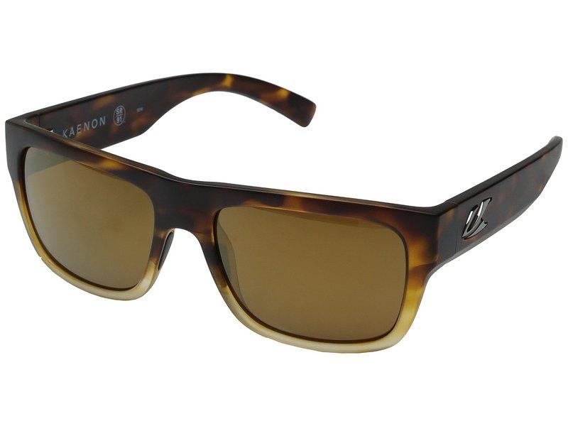 カエノン メンズ サングラス・アイウェア アクセサリー Montecito Matte Tortoise Fade/Brown 12 Polarized Gold Mirror