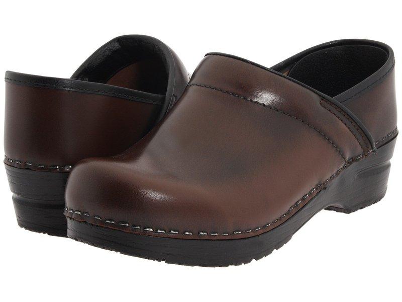 サニータ レディース サンダル シューズ Professional Cabrio Brown Brush Off Leather