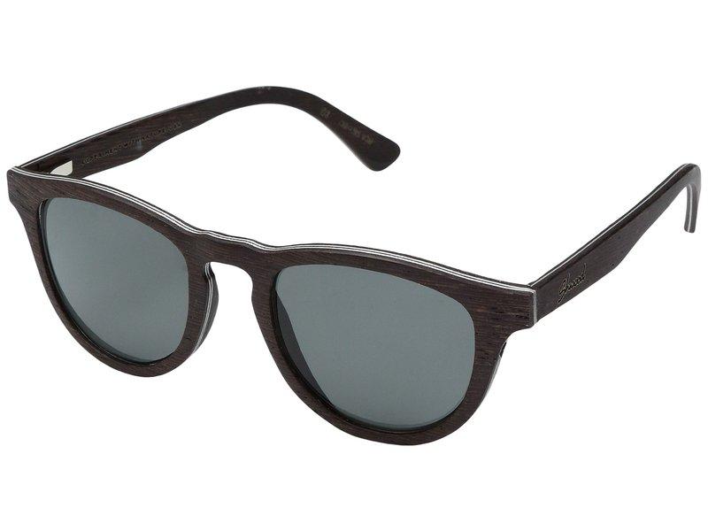 シュウッド メンズ サングラス・アイウェア アクセサリー Francis Wood Sunglasses - Polarized Dark Walnut/Grey Polarized