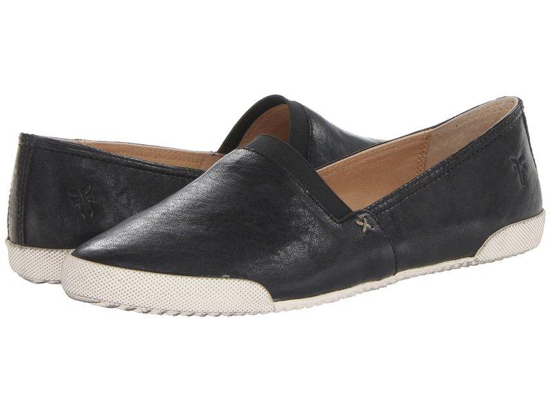 フライ レディース スニーカー シューズ Melanie Slip On Black Antique Soft Vintage