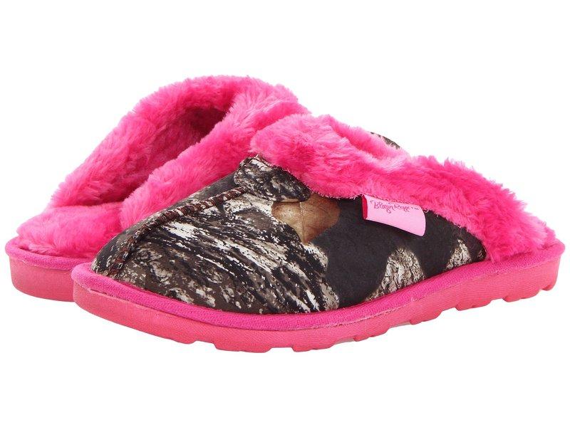 エムエフウエスターン レディース サンダル シューズ Fleece Slide Slippers Mossy Oak/Hot Pink