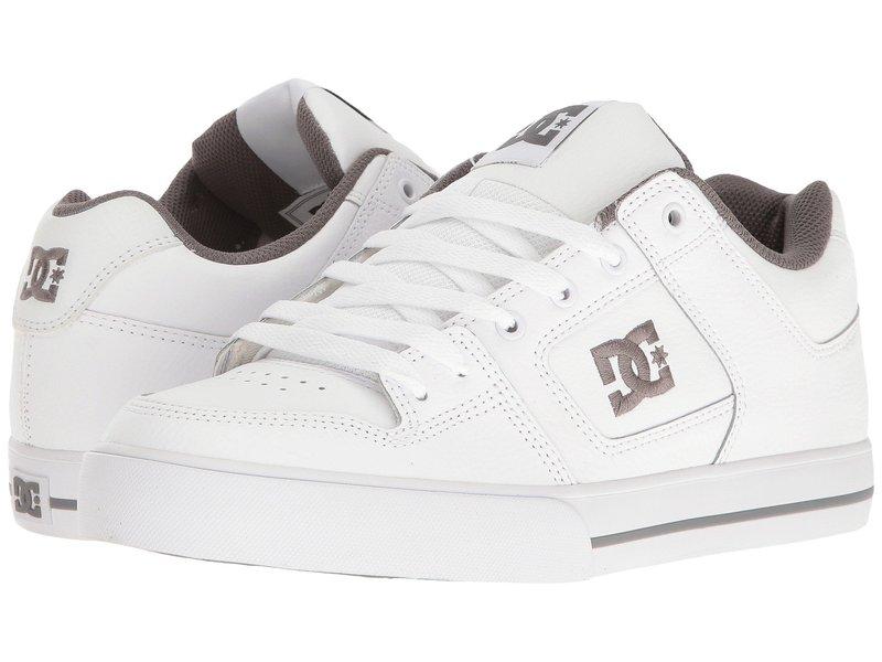 ディーシー メンズ スニーカー シューズ Pure White/Battleship/White