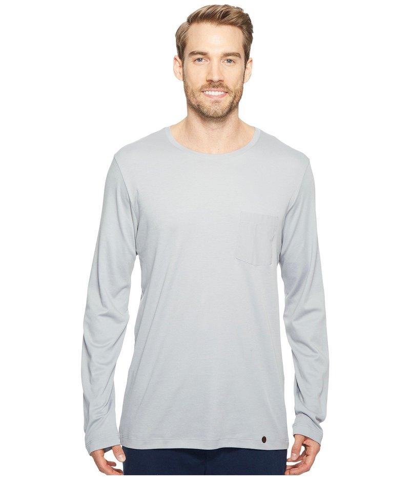 ハンロ メンズ シャツ トップス Night and Day Long Sleeve Shirt Mineral