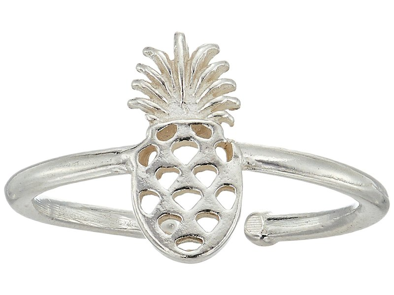 アレックスアンドアニ レディース リング アクセサリー Pineapple Adjustable Ring Sterling Silver