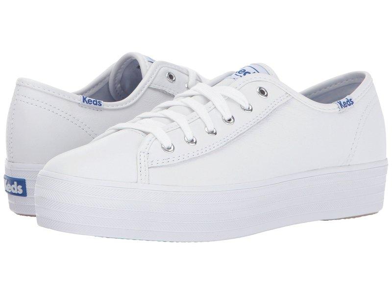 ケッズ レディース スニーカー シューズ Triple Kick Leather White