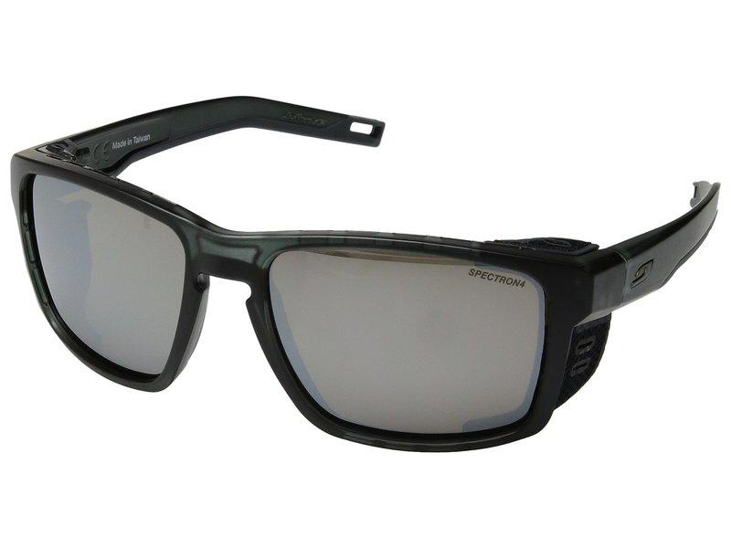 ジュルボアイウェア メンズ サングラス・アイウェア アクセサリー Shield Translucent Black/Black