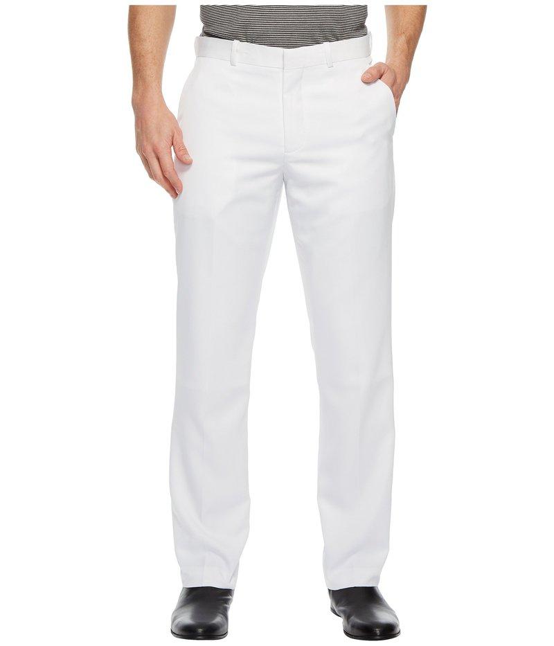 ペリーエリス メンズ カジュアルパンツ ボトムス Solid Performance Portfolio Pant Bright White