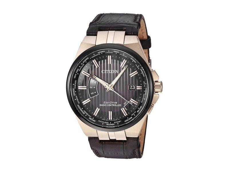 シチズンウォッチ メンズ 腕時計 アクセサリー CB0168-08E Eco-Drive Brown