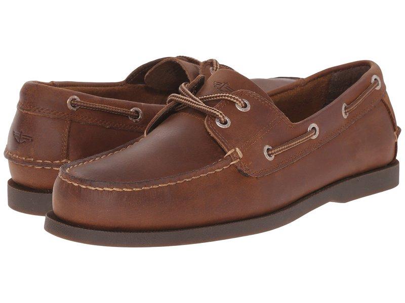 ドッカーズ メンズ デッキシューズ シューズ Vargas Boat Shoe Rust Crazyhorse