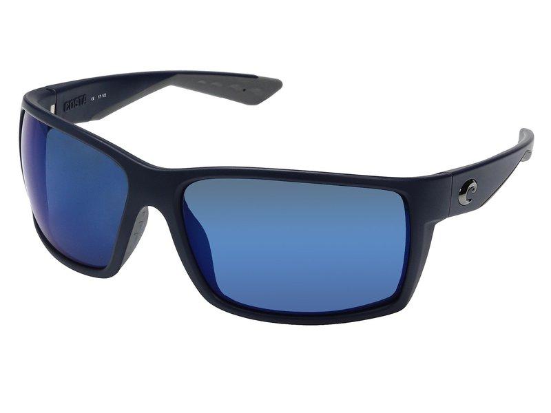 コスタ メンズ サングラス・アイウェア アクセサリー Reefton Matte Blue Frame/Blue Mirror 580P