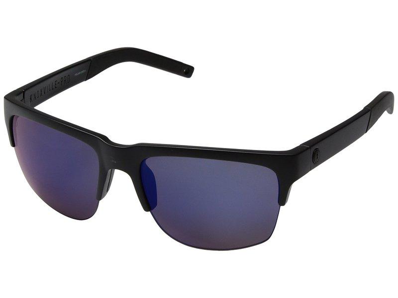 エレクトリックアイウェア メンズ サングラス・アイウェア アクセサリー Knoxville Pro Polarized Plus Matte Black/Ohm+ Polar Blue